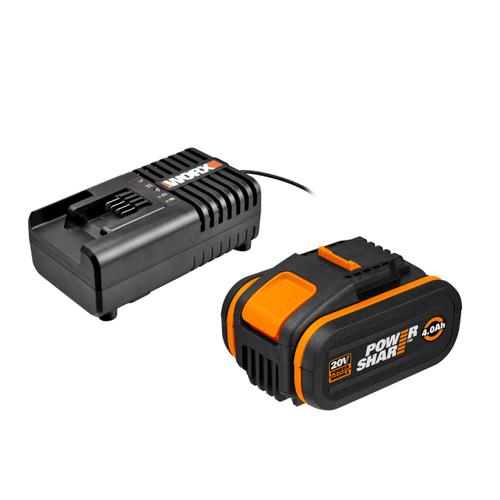 Worx accu en snellader WA3604