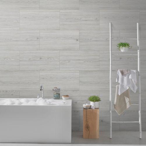 Grosfillex wandpaneel Wall+ PVC Urban Pine 30x60cm