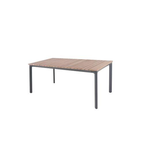Central Park tuintafel Gabrio eucalyptus/aluminium 174x90cm