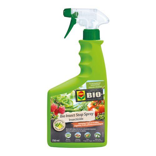 Insecticide légumes, fruits & plantes ornementales spray bio Compo Insect Stop concentré 750ml
