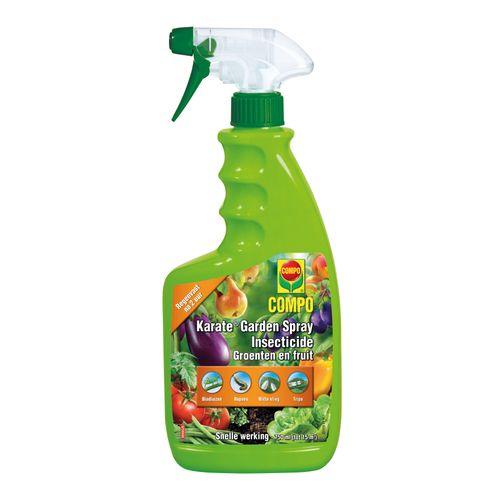 Compo insectenbestrijder Karate Garden Groenten & Fruit spray 750ml