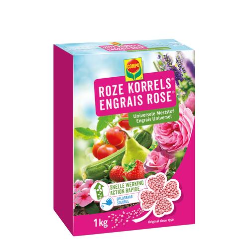 Compo Roze Korrels 1kg