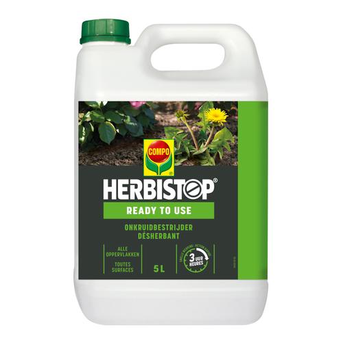 Compo Netolsol Green Herbistop Ready onkruidbestrijder alle oppervlakken 5L 50m²