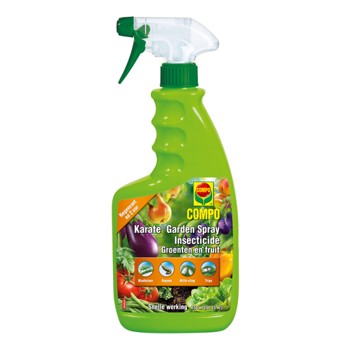 Insecticide spray légumes & fruits Compo Karate Garden 750ml