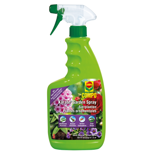 Insecticide spray plantes ornementales Compo Karate Garden 750ml