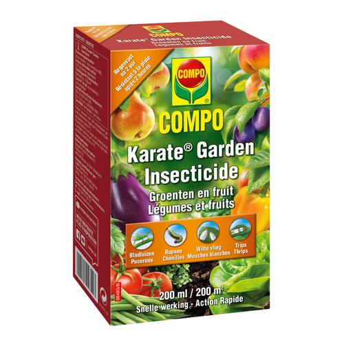 Insecticide légumes & fruits Compo Karate Garden Concentré 200ml
