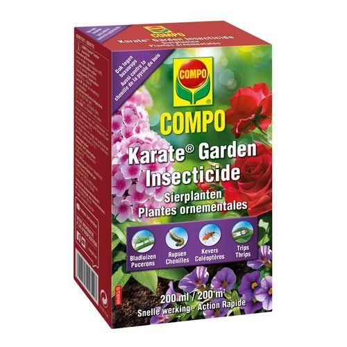 Insecticide plantes ornementales Compo Karate Garden Concentré 200ml