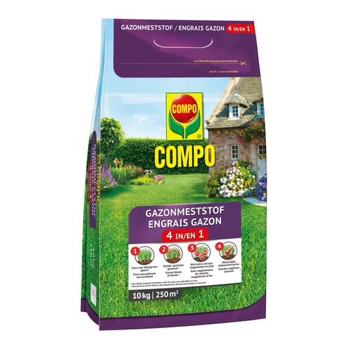 Compo Gazonmeststof 4-in-1 10kg