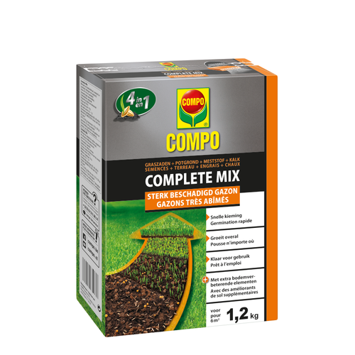 Compo gazon herstel Complete Mix 4-in-1  (6m²) 1,2kg