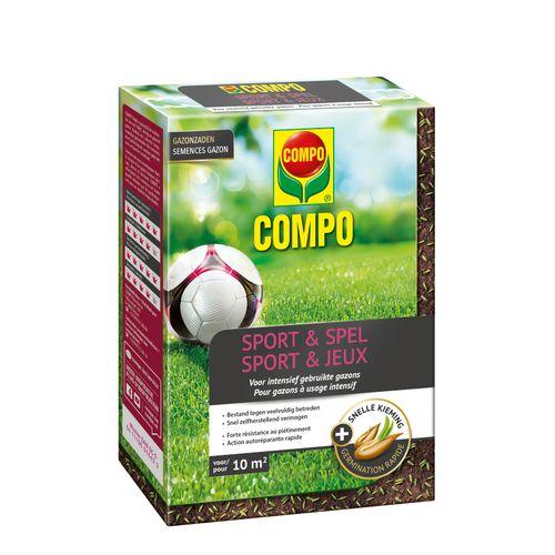 Semences de gazon Compo Sport & Jeux (10m²) 200g