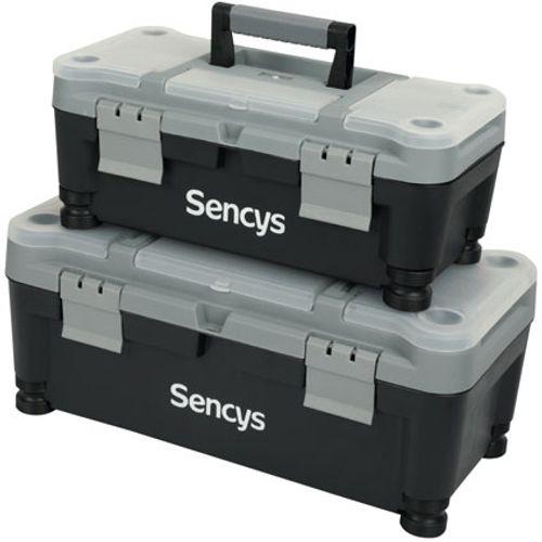 Set de 2 boîtes à outils Sencys