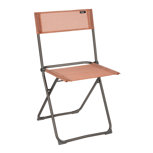 Chaise de jardin Lafuma Balcony pliable orange