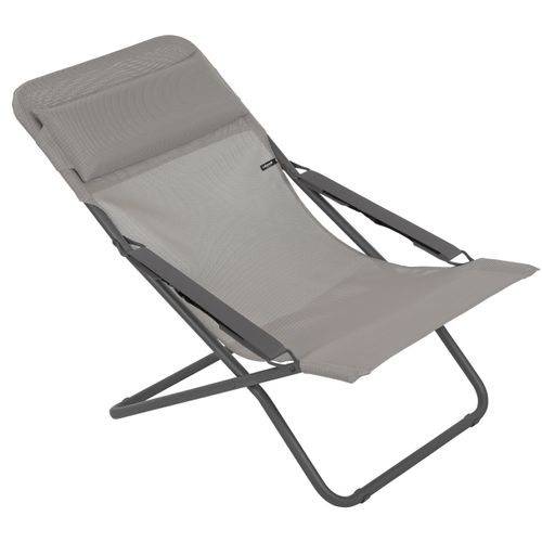 Lafuma strandstoel Transat opvouwbaar taupe