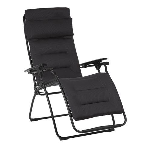 Lafuma ligstoel Futura Air Comfort zwart