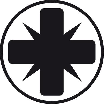 BahcoFit gleuf- en Pozidriv schroevendraaierset met rubber greep - 6-delig