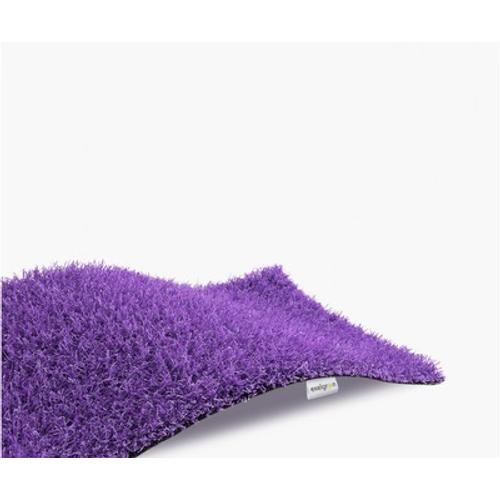 Gazon synthétique Exelgreen violet à la découpe 20mmx4m