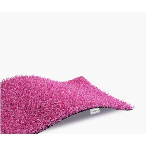 Exelgreen roze kunstgras 4m maatwerk