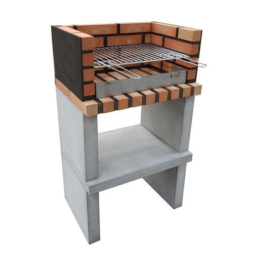 Tuozi stenen barbecue Zon Basic 62x45,5x80cm