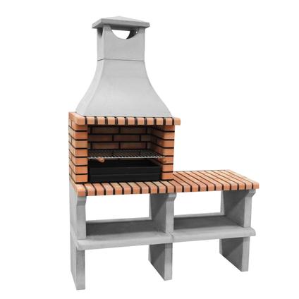 Tuozi barbecue Napoles Deluxe 144x58x205cm