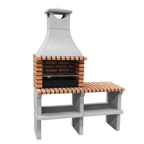 Barbecue en pierre Tuozi Napoles Deluxe 144x58x205cm