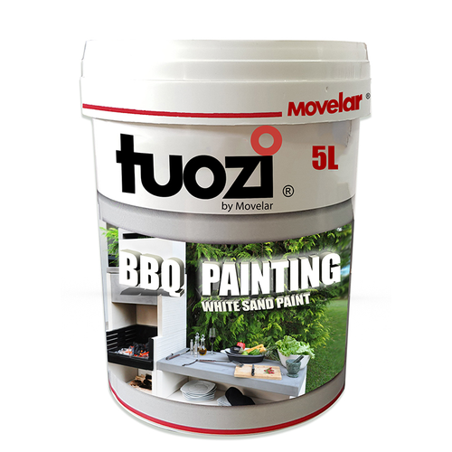 Peinture blanche pour barbecue Tuozi 1 litre