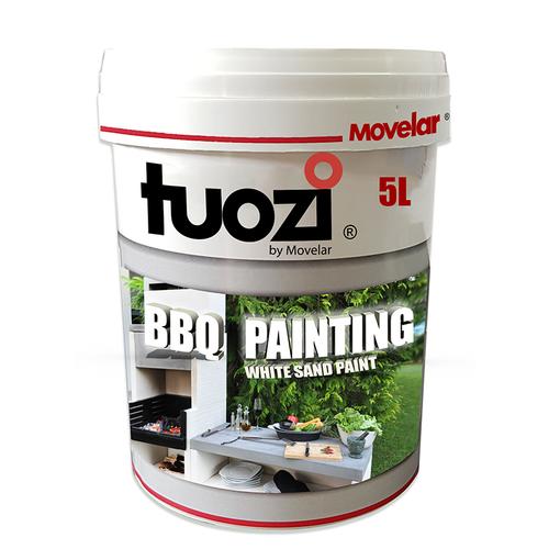 Peinture blanche pour barbecue Tuozi 5 litre