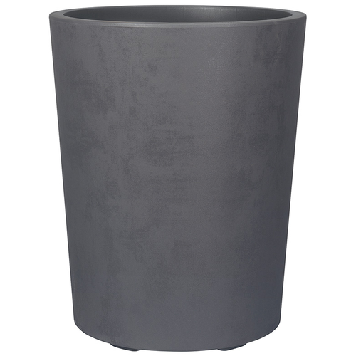 Deroma bloembak Vaso Millennium met waterresere antraciet Ø43,5cm