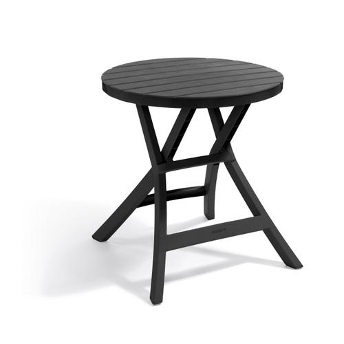 Table de jardin Allibert Oregon PVC pliable 70x72cm