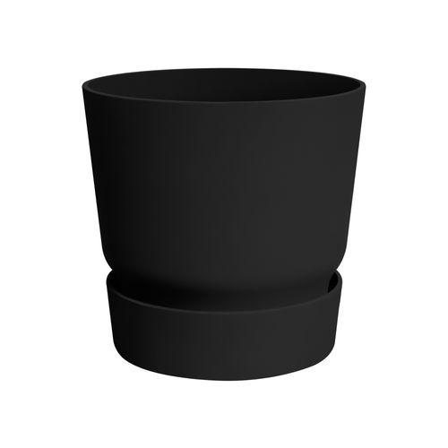 Elho bloempot Greenville rond 47cm zwart