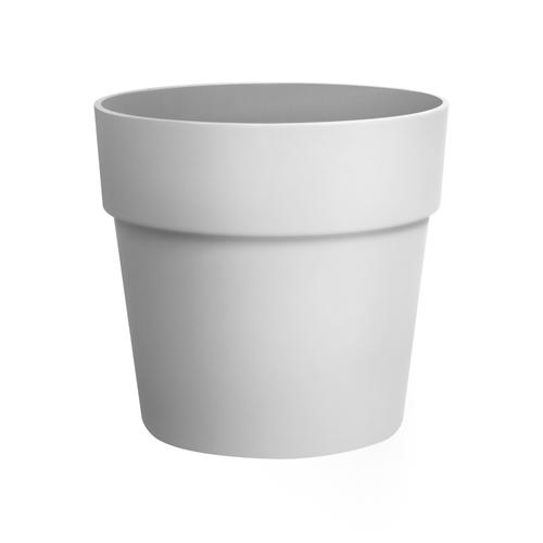 Pot Elho Vibia straight rond 40cm blanc