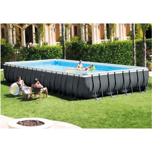 Piscine tubulaire Intex Ultra Frame Rectangular 975x488cm