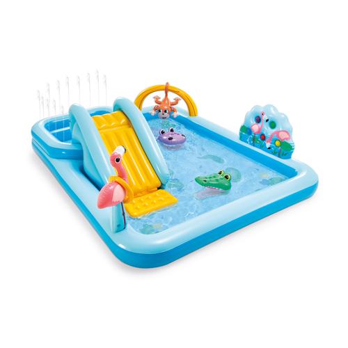 Aire de jeux aquatique gonflable Intex Jungle Adventure 257X216cm