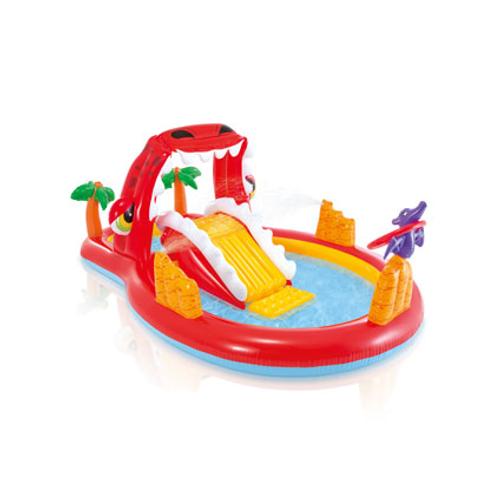 Aire de jeux aquatique gonflable Intex Happy Dino 259X165cm