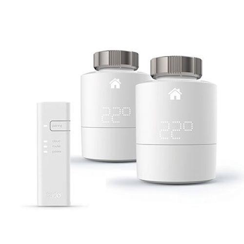 Tado slimme radiatorknop Starterskit V3+ wit