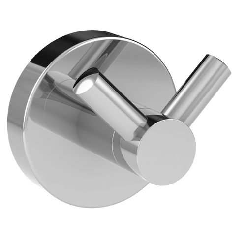 Allibert haak dubbel Coperblink glanzend chroom