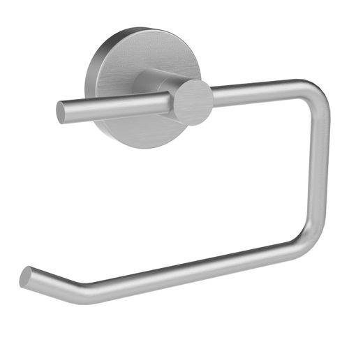 Porte-papier de toilette Allibert Coperblink argenté brossé à suspendre