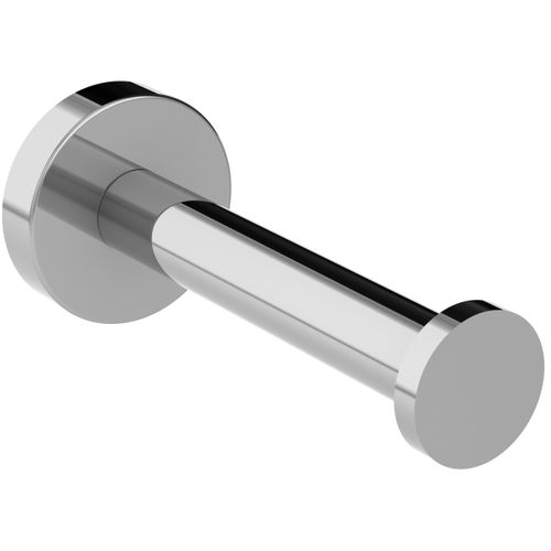 Porte-rouleau wc de réserve Allibert Coperblink argenté brillant à suspendre