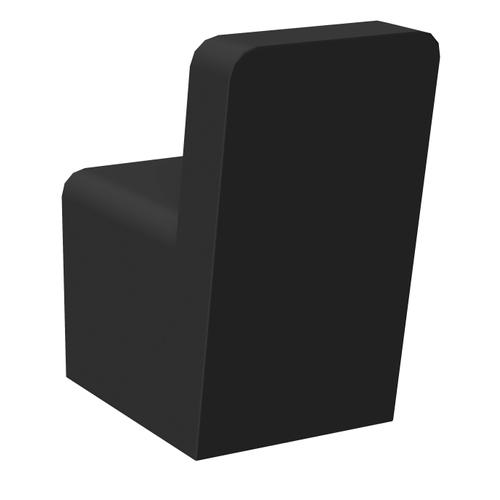 Allibert haak Loft-Game zwart mat