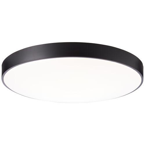 Brilliant plafondlamp Slimline XXL zwart 80W