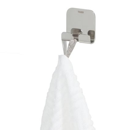 Tiger haak Colar dubbel chroom