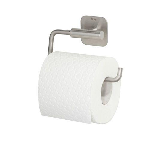 Porte-rouleau de papier toilette Tiger Colar acier inoxydable brossé