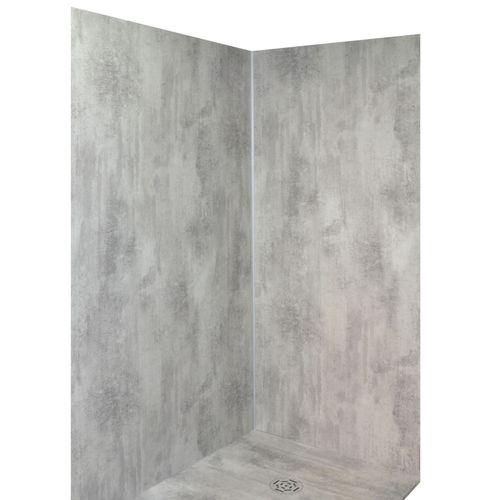 Shania wandpaneel 202x120x6cm corten grijs
