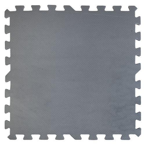 Tapis de sol puzzle Gre gris anthracite 50x50cm 9pcs