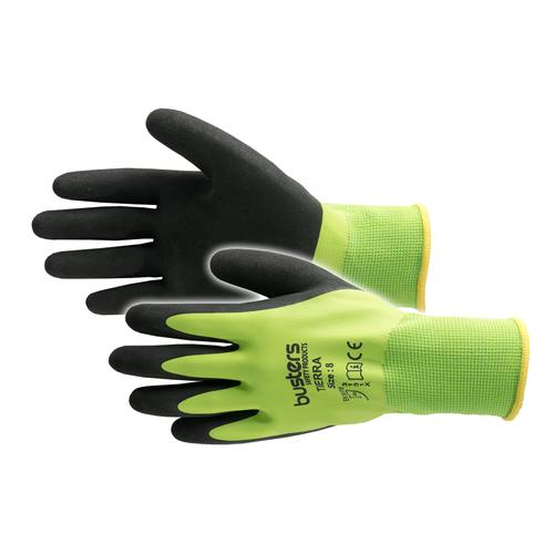 Busters Tierra handschoen groen/zwart maat 8