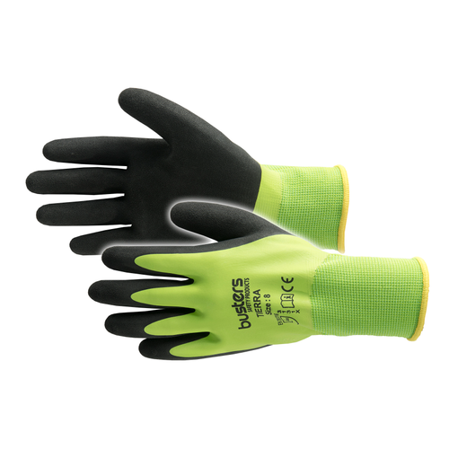 Busters Tierra handschoen groen/zwart maat 10