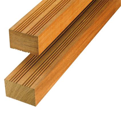 Regel hardhout gevingerlast 4,5x6,8x215cm