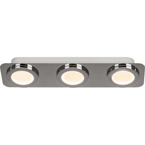 Aquavive plafondlamp LED Simi chroom 3x5W