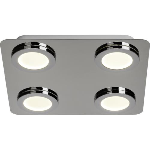 Aquavive plafondlamp LED Simi chroom 4x5W