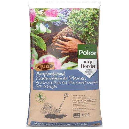 Pokon Aanplantgrond Zuurminnende planten Bio 30L