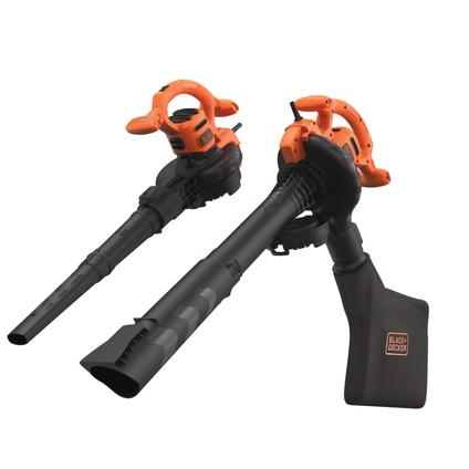 Black+Decker elektrische bladblazer BEBLV2600-QS 2600W
